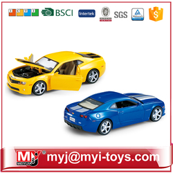 HJ019502 promotion gift 1/28 gold scale die cast model car toy