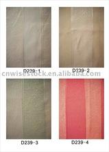 Stripe hotel curtain fabrics