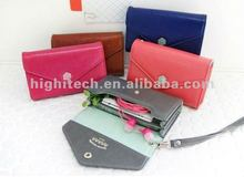New Wallet leather case bag For iPhone 4 4S 4G