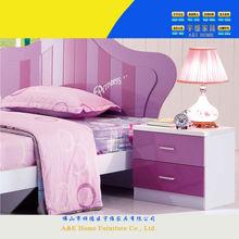 6101 modern design kids child bed with storage bedrooms sliding bed