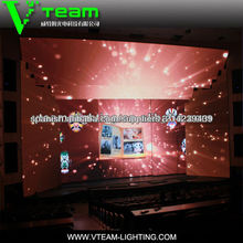 New invention products p10/p12 transparent super-thin LED video curtain background