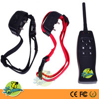Remote Dog Training Collar Electric Shock Collar For Sport Hunting Dog Control and Training Behavior Rechargeable with vibration