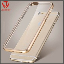 2015 alibaba china Transparent PC bumper Cell Phone cover Deff Cleave Aluminum Bumper Case for iphone 6