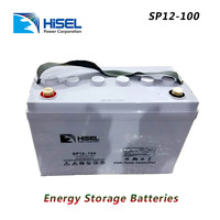 <Hisel>Energy Storage Batteries 12V100AH
