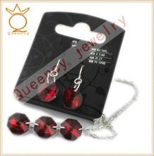 China manufacture 2015 fantasy earring and bracelet set wholesale