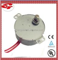 TUV UL 4W ac micro fan synchronous used electric motor