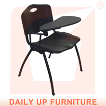 勉強の椅子とテーブル付きの読書用椅子人間工学に基づいた学生講義スタックチェア