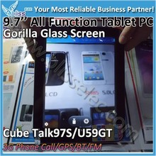 "10 Point touch gorilla glass capacitive 9.7"" tablet digitizer"