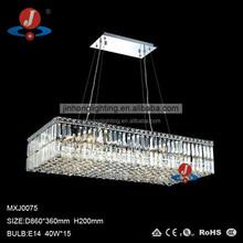 large crystal ceiling lamp for hotel, modern led ceiling lighting