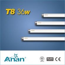 t8 36w energía de la lámpara fluorescente