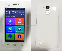 4.5'' senior smart android phone 3g wcdma chinese very low price wifi mobile phones