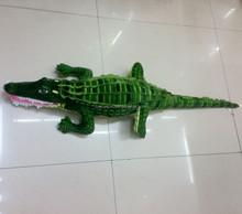 105cm, 165cm and 195cm wholesale sea animal plush toy crocodile