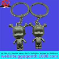 hot sale gifts colored 2d custom promotional customized soft t-shirt pvc key chains