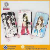 New Card Holder Wallet Lady Case for samsung galaxy S4