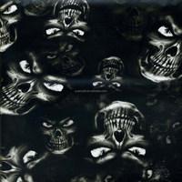 Wholesale 100cm Width Pattern Skull Water Transfer Printing