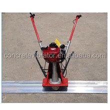 Floor concrete vibrating screed machine