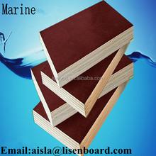 Black Film Faced Marine Plywood/Concrete Shuttering Plywood/Construction Plywood For Concrete