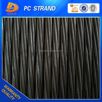 12.7mm prestressed concrete steel strand, metal building material, construction and real estate