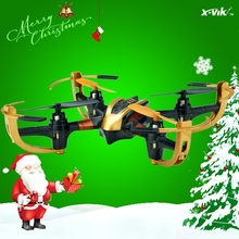 New Design X4 with protective cover Mini Toys Quadcopter / Helicopter Especially for Children and Beginners (Golden)