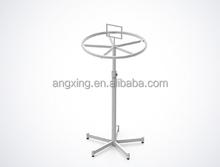 Rotating garment display rack display rack Metal stand charom stand