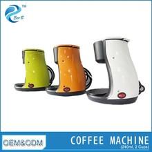 (GS/CE/EMC/RoHS) 2014 Fashionable 2-cup Drip Coffee Maker