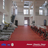 indoor pvc sports floor gym surface