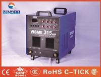 Tig welding machine 315smps pulse acdc welding machine, three phase portable arc welding machine