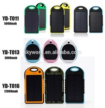 OEM/ODM available output 5v solar charger 12000mah shenzhen mobile phone accessories