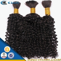 wholesale natural curly 26 inch brazilian afro kinky curly braiding hair