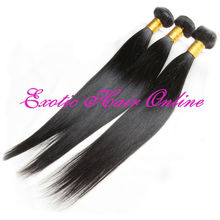 Exotichair 100 gram human hair top quality virgin mongolian virgin