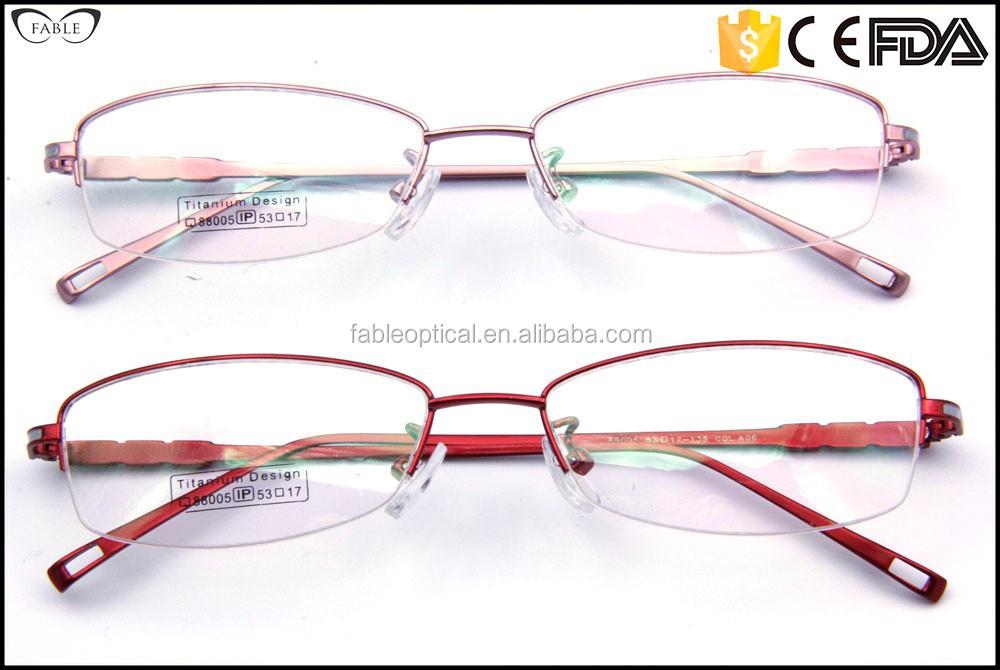 Rimless Eyeglass Frames 2015 : 2015 Latest Titanium Rimless Eyeglass Frames Online,Semi ...