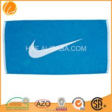 branded wholesales cotton printed beach towel nike 2015 Hotsale OEM Manufacture Yarn Dyed Luxury Custom Made Cabana Ultra Soft
