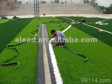 Natural looking easy-installing artificial turf/ synthetic grass for soccer field