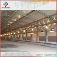 steel structure prefabricated buildings layer Chicken farm