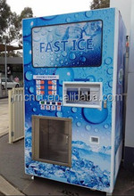 24 hour self service easy coin operated ice and water combine machine for commercial use