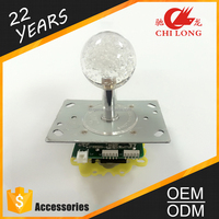 Chilong newest joystick with IC board and seven colors for the arcade machines,crane machine