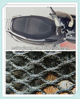 2014 hot sell cooling motorcycle seat cushion making by knitted 3D air mesh fabric