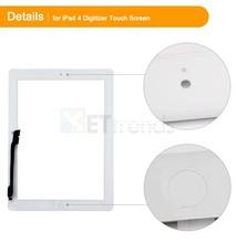 piezas de repuesto tableta táctil de pantalla para ipad digitalizador 4