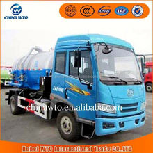 faw J6 4x2 Vacuum Sewer Cleaning Tank Truck Sewage Suction Tanker Truck new product