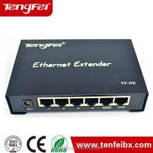 48V POE Extender 10Base-T 100Base-TX Fast ethernet POE Switch 5 Port for IP network cameras