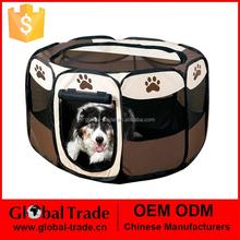 8 Side Fabric Soft Dog Puppy Rabbit Pet Play Pen Run Medium Extra Large Pet Fence 450088