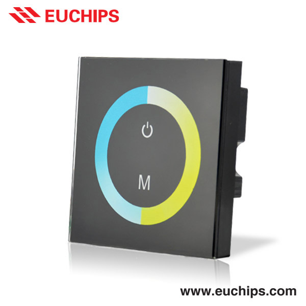 WallDim004: Euchips Color Temperature 12-24V 240W LED Touch Panel
