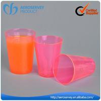 Custom logo oem disposable disposable plastic beer tasting cup for restaurant