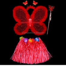 red butterfly wing for Hawaiian dance