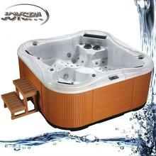 steam shower whirlpool bathtub JY8003 black whirlpool bathtub whirlpool massage bathtub