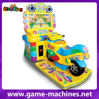 2015 canton fair kids amusement car racing game machine arcade motorcycle game machine