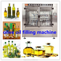 fully automatic piston linear filling machine, olive oil/vegetable oil/cooking oil filling machine