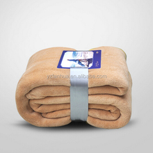 Custom Travel Khaki Coral fleece Blankets