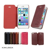 Hot sale smart flip leather mobile phone case for iphone 5s case 5s from alibaba manufacture