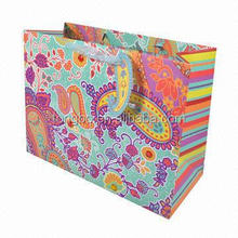 Shopping Offset Drawing CMYK Printing Paper Bags